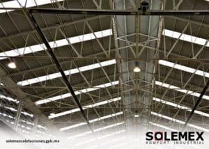 Climatización para naves industriales-Solemex