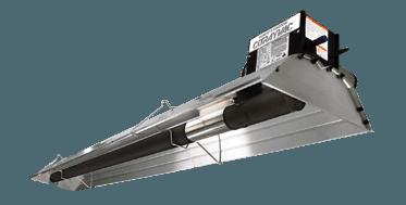 Calefactores industriales CoRayVac de Roberts Gordon